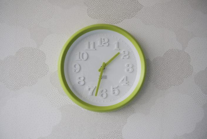 Velké kulaté hodiny