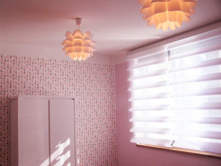 Pokojíček pro holčičky s neobvyklými světly