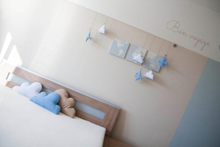 Pokoj pro miminka s dekoracemi