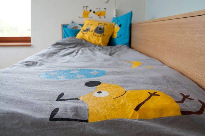 Přehoz na postel pro malé uličníky